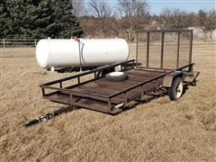 2014 Carry-On 5X10G S/A Utility Trailer