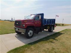 2000 Chevrolet C7500 S/A Dump Truck