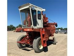 1974 International 615 Combine W/Pickup Head & Trailer