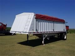 1996 Neville 22' S/A Grain Trailer