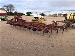 International 4500 Vibra Shank Field Cultivator W/Noble Harrow