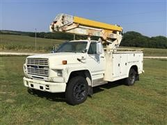 1987 Ford F600 S/A Bucket Truck