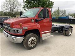 2008 Chevrolet C4500 Cutaway 4x2 Hotshot Flatbed Truck
