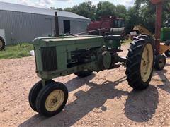 1952 John Deere 50 2WD Narrow Front Tractor