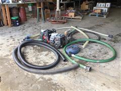 Pacer SEB2UL-E51C Trash Pump