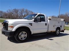 2008 Ford F350XL Super Duty Service/Utility Truck