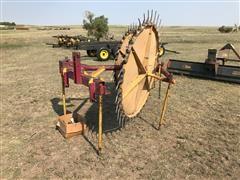 Darf 3-Pt 3 Wheel Rake
