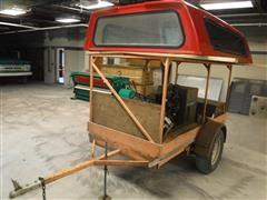 Hobart G-213 Welder/Generator On Trailer W/Tools & Equipment