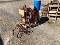 Hereford Roper Saddle