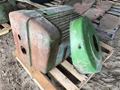 John Deere 70 Front Grill And Starter Cover