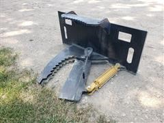 Mid-State Tree Shear/Puller Skid Steer Attachment
