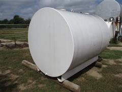 We Mac Mfg Co 1000 Gallon Double Walled Fuel Tank On Metal Base Frame