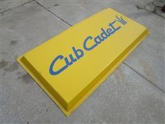 Cub Cadet Sign Front