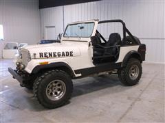 1978 American Motors CJ7 Utility 4WD Jeep