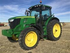 2011 John Deere 6170R MFWD Tractor