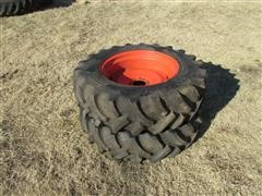 12.4-24 Traction Tires & Rims