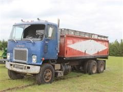 1972 GMC Titan T/A Cabover Silage Truck