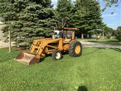 John Deere 401B Compact Utility Tractor W/Loader