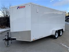 2019 Pace Outback Deluxe OB7X16TE2 T/A Enclosed Trailer