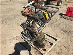 Pair Of Gas Powered Soil Compactors