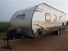 2014 Cherokee 26 BH Patriot Travel Trailer