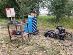 Gates PC 707 Hydraulic Hose Ends Clamp Machine