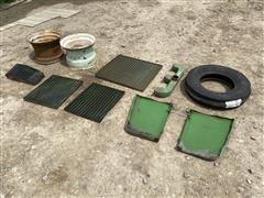 John Deere, Firestone Tires Rims & Tractor Parts
