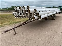 Diamond/Kroy Pipe W/Trailer