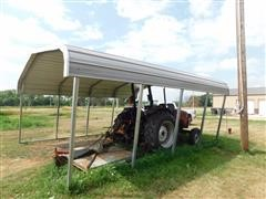 Sheet Metal Canopy/Car Port