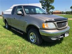 2002 Ford F150 XLT 4x4 Extended Cab Pickup