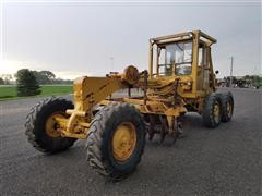 Caterpillar 12 Motor Grader With 8' Rome Disk Blades