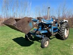 1968 Ford 5000 2WD Tractor W/ Loader