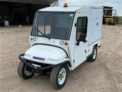 2011 Columbia Electric Industrial Van Cart
