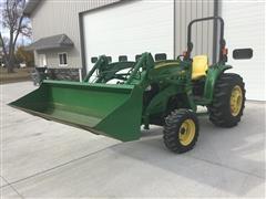 2012 John Deere 4720 MFWD Utility Tractor W/Loader