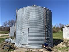 Co-Op 6000-Bushel Grain Bin