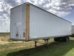 1983 Miller Dry Van T/A Enclosed Storage Trailer