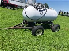 Trinity 500 Gal Portable Fuel Trailer