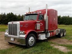 1989 Peterbilt 379 Short Hood T/A Truck Tractor
