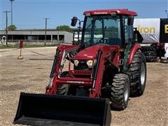 2017 Mahindra 25554CHIL Compact Utility Tractor W/Loader