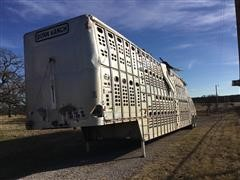 2009 Wilson PSDCL-402 T/A Livestock Trailer