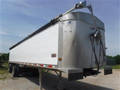2007 Travis End Dump Aluminum Trailer