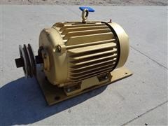 Baldor Reliance Super E 15 Hp Electric Motor