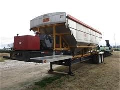 2014 KBH T/A Dry Fertilizer Tender Trailer