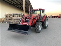2015 Mahindra 105P MFWD Tractor W/Loader