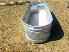 Behlen Country Oblong Galvanized Stock Tank