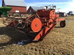 J I Case G159B Windrower