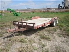 2003 Jamie's Welding T/A Car Trailer