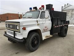 1981 Chevrolet C60 Dump Tanker Fire Truck