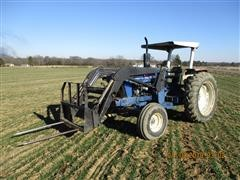 Ford 5000 2WD Tractor w/ Front End Loader