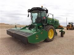 2015 John Deere W235R Self-Propelled Windrower